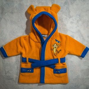 Disney Winnie the Pooh Tigger Robe w/ Hood & Ears
